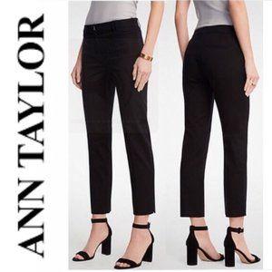 Ann Taylor Black Ankle Pants 6P
